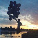 Na wczorajszej imprezie kto uwieczni mnie podczas lotu z balonemhellip