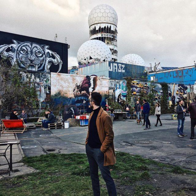 Hidden Berlin spots  Opuszczona amerykaska baza NSA berlinplaces teufelberghellip