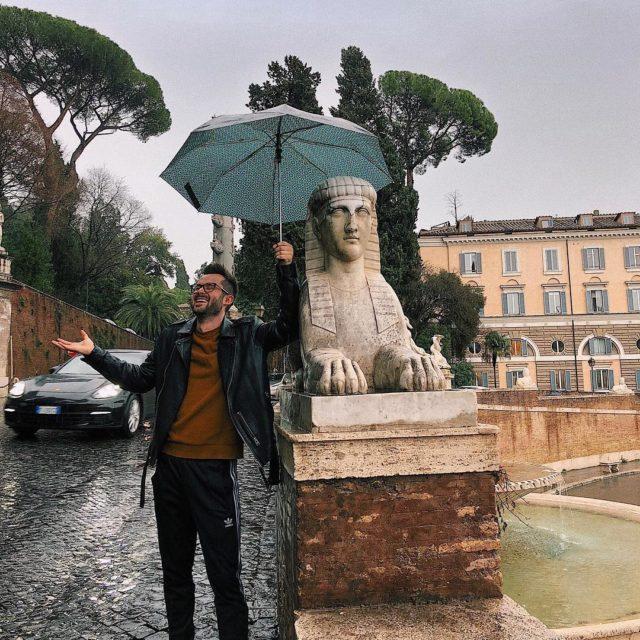 To trzeba mie moje szczcie aby przylecie do Rzymu whellip